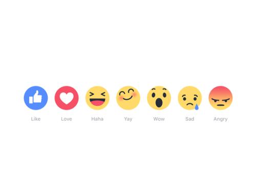 Novità in casa Zuckerberg: arrivano i nuovi tasti di Facebook!